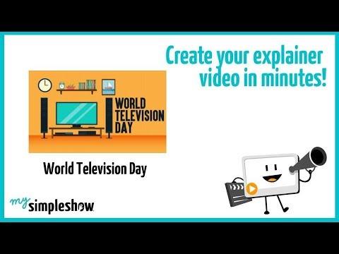 World Television Day - mysimpleshow