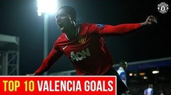 Top 10 Goals   Antonio Valencia   Manchester United