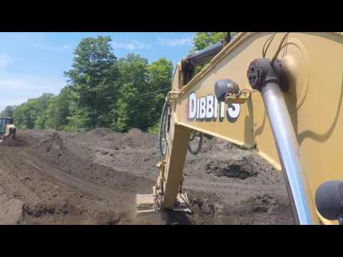 Dibbits Excavating: How our Screened Topsoil is made