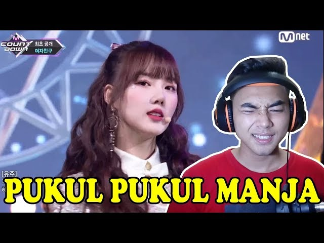 PUKUL PUKUL MANJA! - Gfriend - Sunrise [Live Stage] Reaction - Indonesia