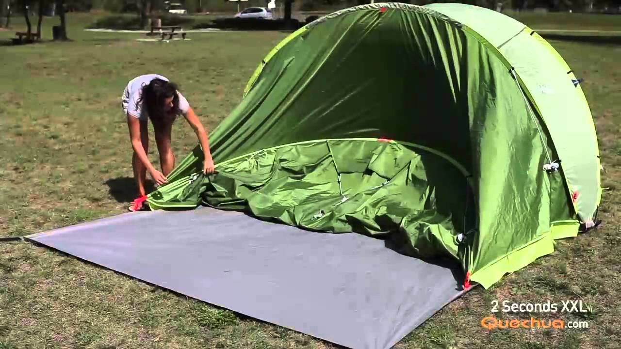 1 Persoons Pop Up Tent Quechua 2 Seconds Xxl Pop Up Tent