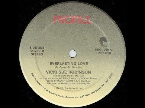 Vicki Sue Robinson  - Everlasting Love (Longerlasting Re Edit)