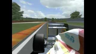 [rFactor] HRT-Cosworth F112 & Lotus-Renault E20 - Test Day @ Mugello (mod VFR 2012) [HD]