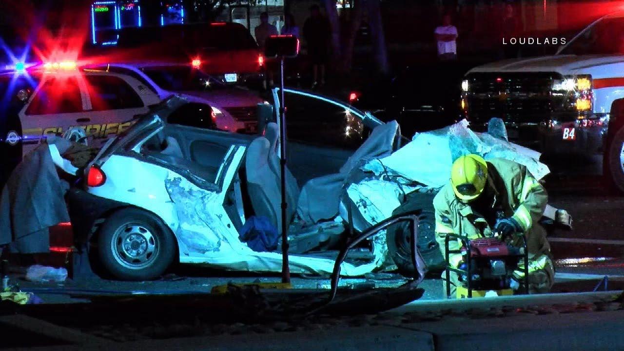 mci traffic collision / jurupa valley raw footage - youtube