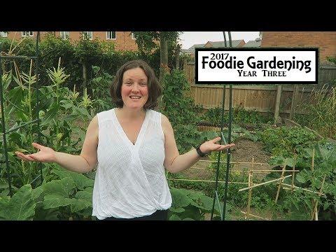 Laura's Organic Kitchen Garden Tour July