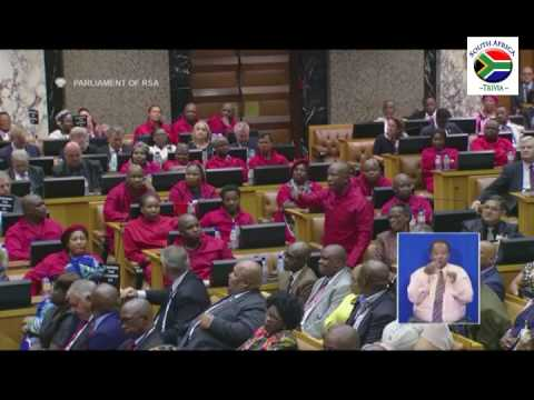 SONA 2017 - On a Point of Order (Julius Malema and EFF)