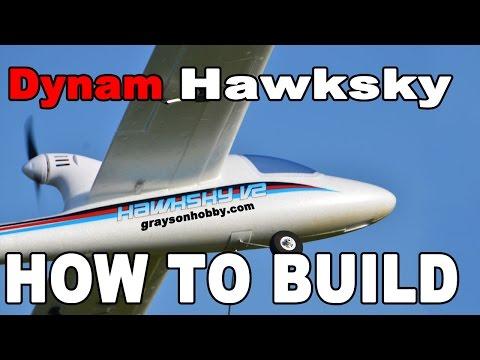 Dynam HawkSky V2 4Ch 2 4ghz RTF