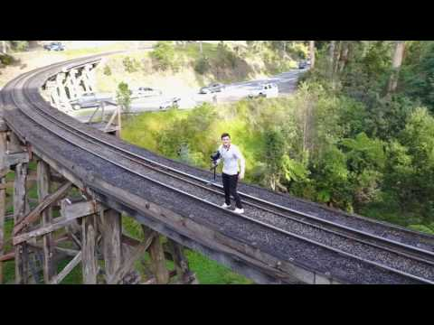 Dandenong Ranges National Park Day Trip - Puffing Billy Train Tracks (Mavic Drone - Gopro)