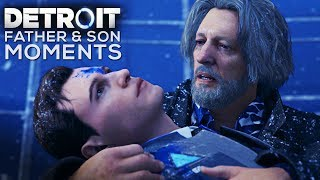 Download Hank Treats Connor Like His Son (Cole) FATHER & SON MOMENTS - DETROIT BECOME HUMAN Mp3 and Videos