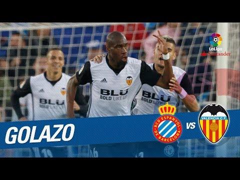 Golazo de Kondogbia (0-1) RCD Espanyol vs Valencia CF