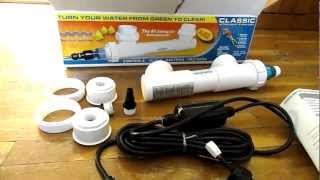aqua ultraviolet 8 watt aquarium pond sterilizer
