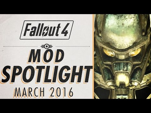 Fallout 4 Mod Spotlight - X-02 Enclave Power Armor, Crossbows Take Cover & MORE [March 16]