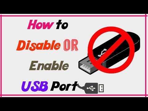 How To Lock And Unlock Your USB Ports In Windows 10/7/8/8.1/XP/Vista