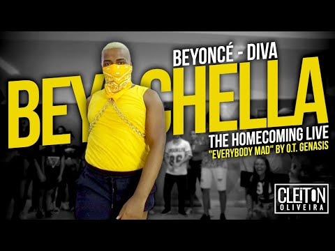 Beyoncé  Coachella - DIVA &39;&39;Everybody Mad&39;&39; COREOGRAFIA Cleiton Oira  IG: CLEITONRIOSWAG