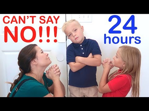 KID in Charge for 24 HOURS on First Day of School! Family Cant Say NO!!!