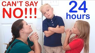 KID in Charge for 24 HOURS on First Day of School! Family Can't Say NO!!!