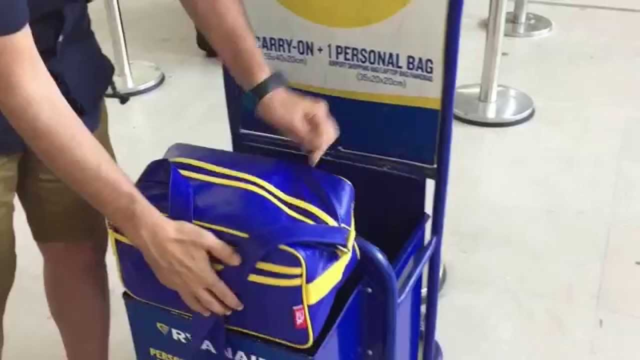 Ryanair Handbag Allowance - HandBags 2018