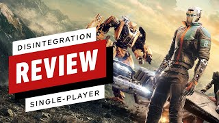 Disintegration Single-Player Review (Video Game Video Review)