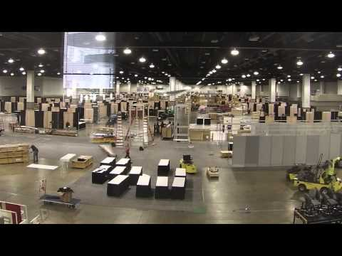 ACE2015 Exhibition Hall Construction