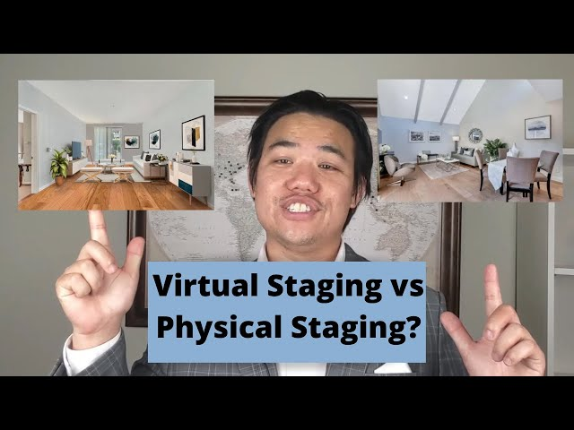 Bay Area Home Selling Tips: Physical Staging vs Virtual Staging Real Estate