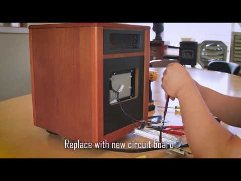 Dr. Infrared Heater - Front Circuit Board Tutorial