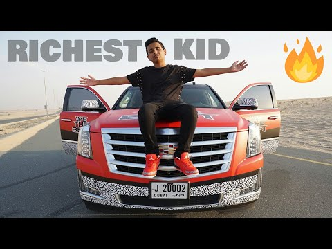 Dubai's Richest Kid - Rashed belhasa Lifestyle, Cars Collection and House