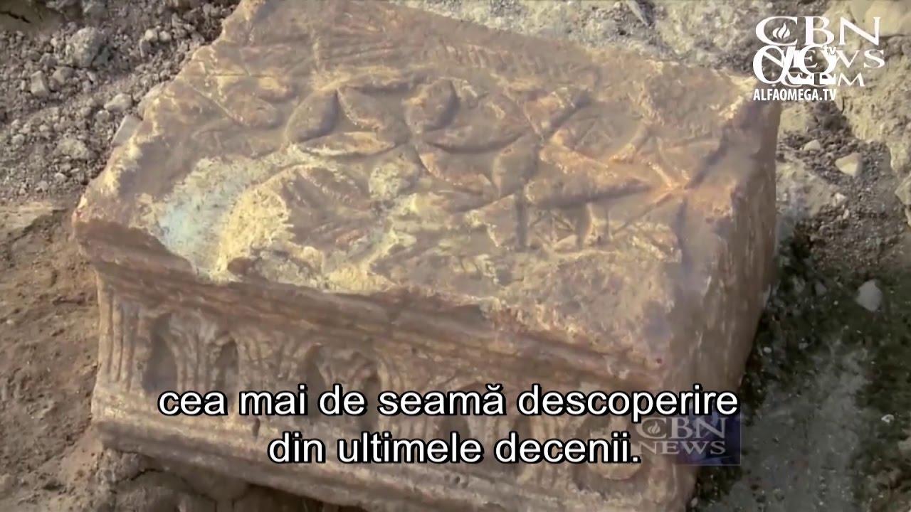 Descoperiri arheologice in Israel Piatra Magdalei, in orasul Mariei Magdalena