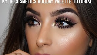 Plum amp; Gold  Kylie Cosmetics Holiday Palette