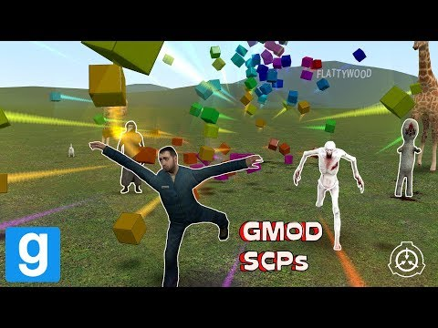 CRAZY SCPs! - Garry's Mod Sandbox   Funny Moments
