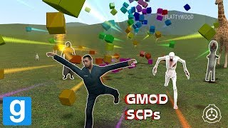 CRAZY SCPs! - Garry's mod sandbox | Funny moments