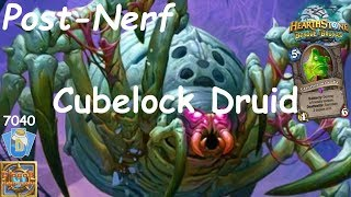 Hearthstone: Cubelock Druid Post-Nerf #1: Witchwood (Bosque das Bruxas) - Standard Constructed