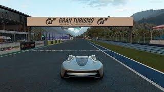 Gran Turismo Sport - Jaguar Vision Gran Turismo Coupé '20 Gameplay [4K PS4 Pro]