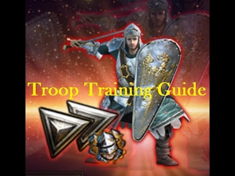 Clash Of Kings - Troop Training Speed Guide