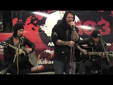 """ASKING ALEXANDRIA """"The Death Of Me"""" Acoustic Q103 Garage Session"""