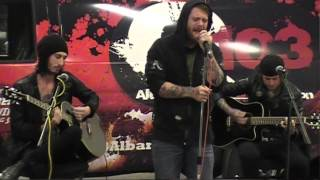 ASKING ALEXANDRIA The Death Of Me Acoustic Q103 Garage Session