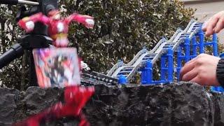 변신 자동차 터닝메카드 바벨 그리폰 후룸라이드 다이빙 놀이 대문밖장난감