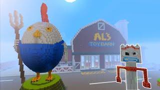 Aqui no hay quien viva (Toy Story) Forky es secuestrado (Minecraft PS4)