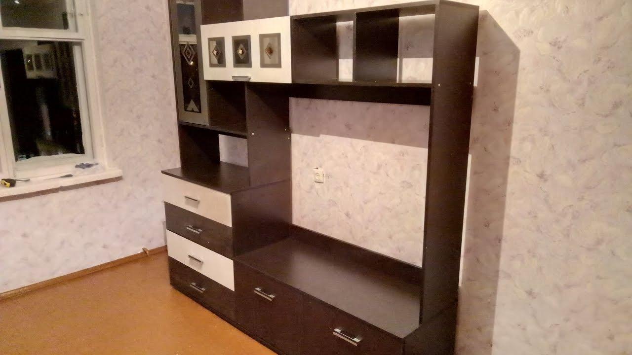 Сборка мебели видео инструкция