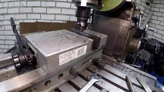 Ремонт системы смазки фрезерного станка СФ 676 П.