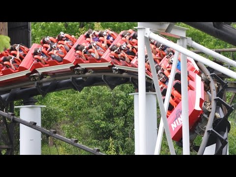 Six Flags St. Louis The New Revolution Samsung VR Roller Coaster NOW OPEN Ninja Virtual Reality 2016