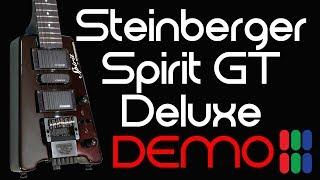 Steinberger Spirit GT PRO DELUXE - Demo