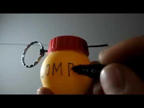 Как сделать ГРАНАТУ своими руками   How to make grenade bomb