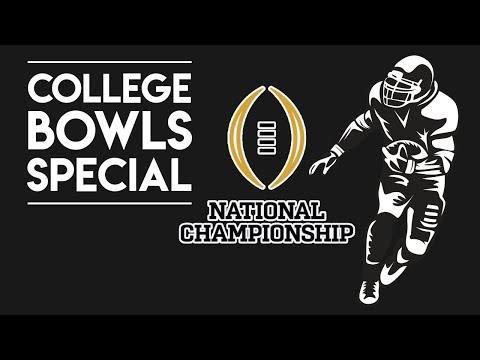 College Football betting | Alabama vs. Georgia National Championship Preview LIVE