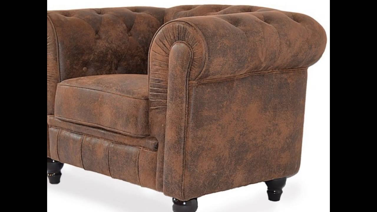 Sofas chester terciopelo piel sintetica y vintage mejor - Sofa piel vintage ...