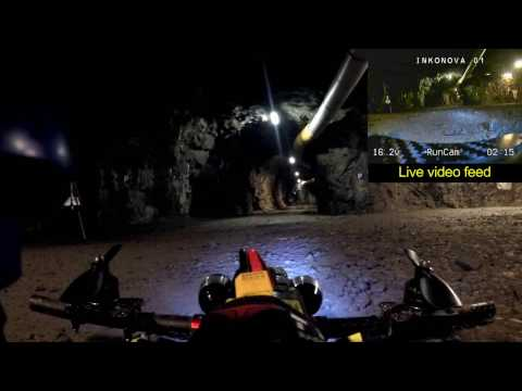 Underground range tests - Radio system 3
