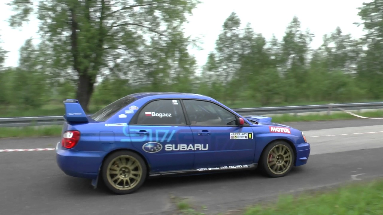 3 Runda SMT 2017 – Robert Bogacz / Paweł Gil – Subaru Impreza
