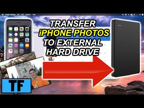 How To Transfer iPhone Photos To External Hard Drive Using Image Capture