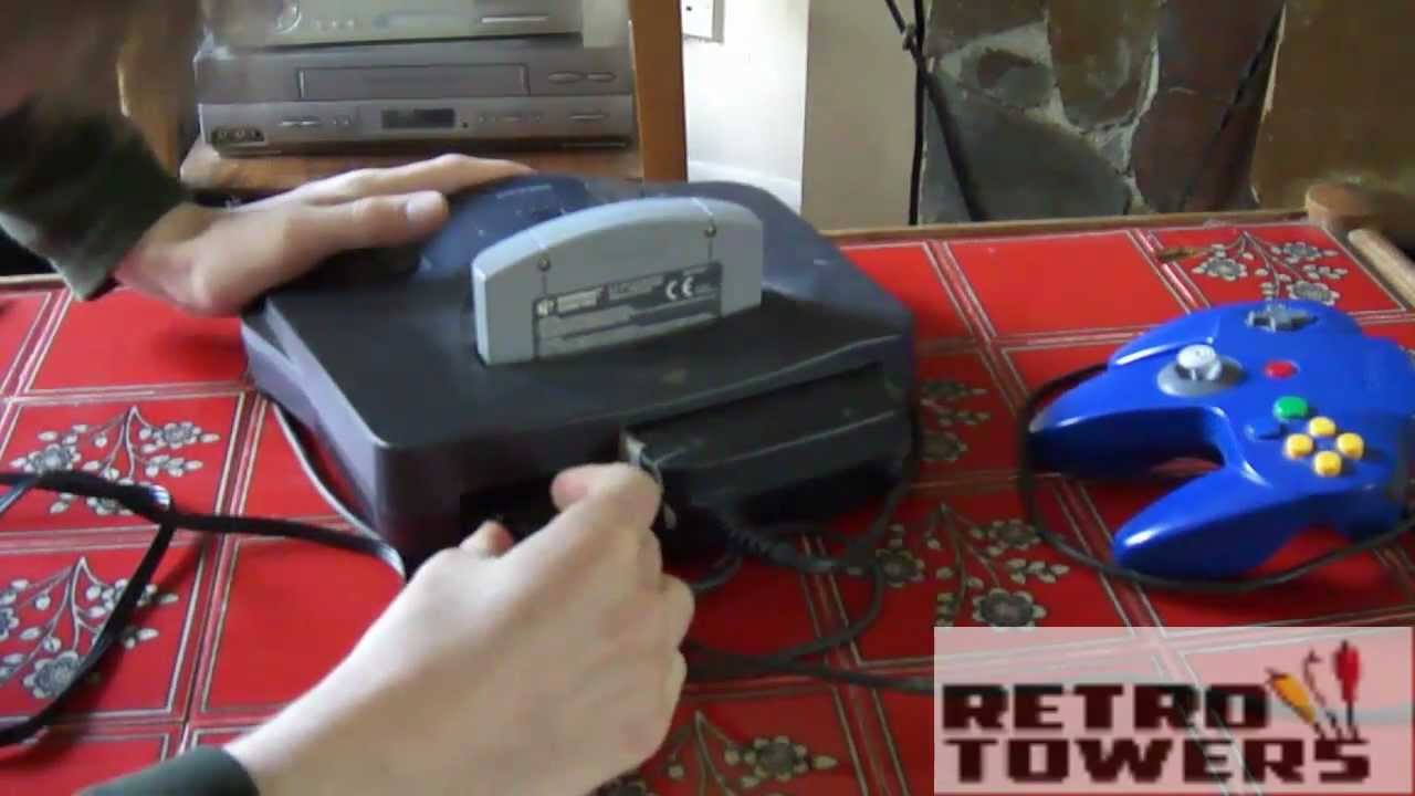 How To Connect Your Nintendo N64 Hd Tv With Av Cables Youtube Uverse Cable Connections