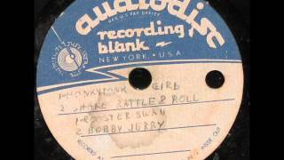 bobby jerry shake rattle roll rare unreleased acetate