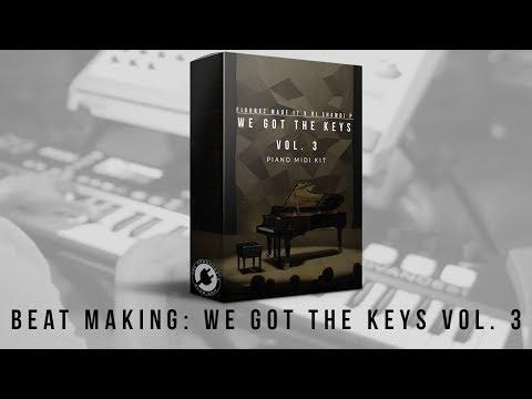 Beat Cookup: Figurez Made It - We Got The Keys Vol. 3 | MIDI Kit PREVIEW